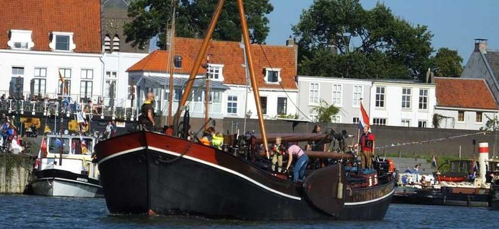 Schippers uit Vreeswijk, vetrek op maandagochtend