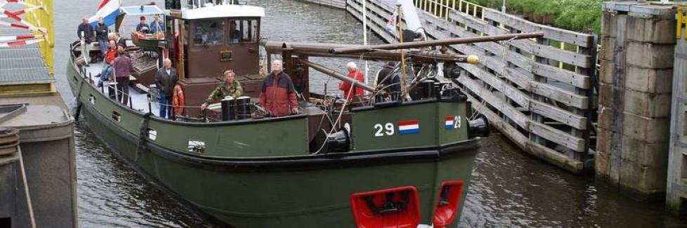 RV 29, mooie verhalen aan boord van dit ex genie schip!